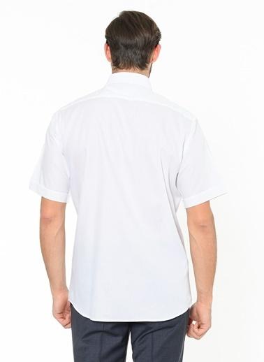 Beymen Business Kısa Kollu Klasik Gömlek Beyaz